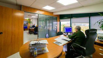 Instalaciones y oficinas de Torfiga